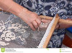 Traditional needlework