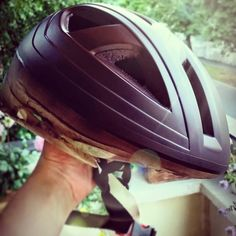 Our new helmet is coming! Safety first :)