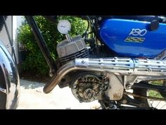 """How to"" video for adjusting the points on a vintage 2-stroke Yamaha motorcycle using a dial gauge. This motorcycle is a 1967 Yamaha YCS1c, with a 180cc moto..."