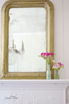 FRENCH COUNTRY COTTAGE: Inspired by~ blush & cream