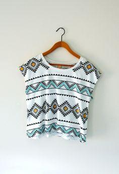 tribal print shirt