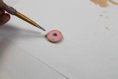 A Donut Necklace (A Tutorial) | Ashley Hackshaw / Lil Blue Boo