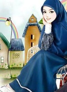 √ 150+ Gambar Kartun Muslimah Berkacamata, Cantik, Sedih, Terlengkap Beautiful Muslim Women, Beautiful Hijab, Muslim Girls, Muslim Couples, Muslim Fashion, Hijab Fashion, Fashion Muslimah, Hijab Drawing, Stylish Hijab