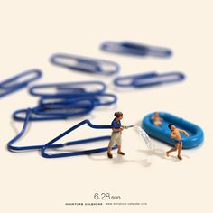 Tatsuya Tanaka crafts intricate miniature calendar of everyday s