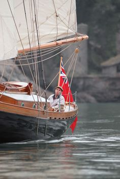 Great story about a classic boat builder and his masterpiece!