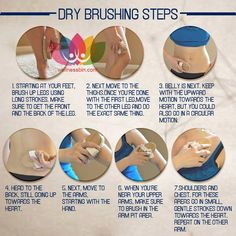 Exercise your skin dry brushing steps; Benefits of Dry Brushing Stimulate You… Train your skin with dry brushing steps. Benefits Of Dry Brushing, Dry Body Brushing, Ayurveda, Lymphatic Drainage Massage, Lymphatic Detox, Lymphatic System, Health And Beauty Tips, Health Tips, Beauty Care
