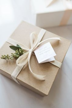 How to Elevate Your Gift Wrapping — Sage Paper Co. How to Elevate Your Gift Wrapping — Sage Paper Co. Wedding Gift Wrapping, Creative Gift Wrapping, Present Wrapping, Christmas Gift Wrapping, Creative Gifts, Wedding Gifts, Christmas Gifts, Wedding Gift Boxes, Gift Wrapping Ideas For Birthdays