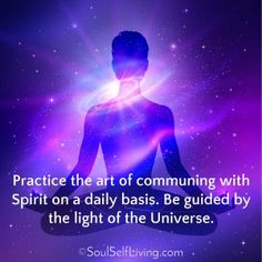 Universal Light: Spirit is the place between thoughts and matter. Practice the art of communing with Spirit on a daily basis. Be guided by the light. Spiritual Symbols, Spiritual Enlightenment, Spiritual Guidance, Spiritual Awakening, Spiritual Quotes, Spirituality, Words Quotes, Life Quotes, Love Tarot