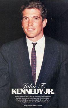 John F. Kennedy Jr. (Handsome Lad!
