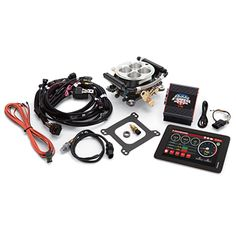 See our Fuel Injection EFI Pro Flo E-Street Universal Marine Fuel Injection Kit. Edelbrock is the most respected name in performance. Since Edelbrock has manufactured its core products in the USA for quality & performance. Performance Engines, Race Engines, Fuel Injection, Car Parts, Personalized Items, Competition, Base, Accessories, Street