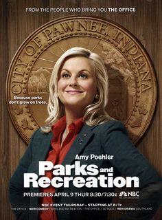 Parks and Recreation starring Amy Poehler is currently my addiction on Netflix.  All star cast with lots of great guest stars, and Poehler's character is really upbeat.
