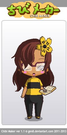 Another one of my BFFs :) Chibi Maker, Bffs, Fictional Characters, Art, Art Background, Kunst, Fantasy Characters, Best Friends, Art Education