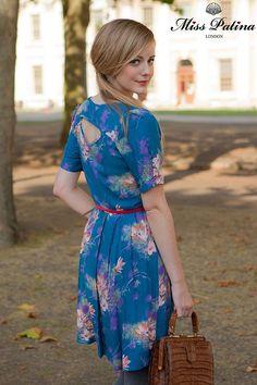 Miss Patina:  Floral Affair Dress