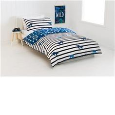 Reversible Jungle Quilt Cover Set - Single Bed