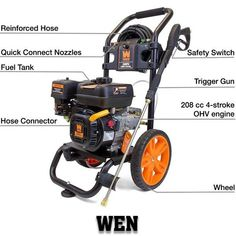 Wen can be the best choice for your house Best Pressure Washer, Pressure Washing, Outdoor Power Equipment, Cleaning, Tools, House, Home, Haus, Appliance