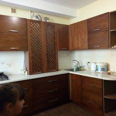 Wooden Kitchen, Kitchen Cabinets, Home Decor, Timber Kitchen, Interior Design, Home Interior Design, Dressers, Home Decoration, Decoration Home