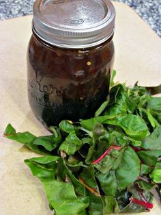 Peace, Love, and Low Carb: Balsamic Shallot Vinaigrette