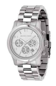 Michael Kors 'Runway' Chronograph Watch. I think this is the one calling my name...