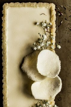Tarta panna cotta de lichis y coco - Bake-Street.com