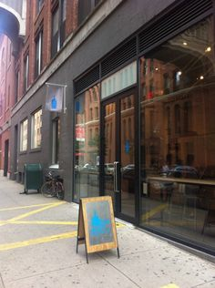 Blue Bottle Coffee 場所: New York, NY