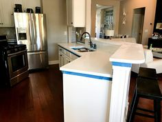 Go to our world-wide-web site for way more on the subject of this striking thing Painted Granite Countertops, Painting Countertops, Marble Countertops, Kitchen Countertops, Granite Paint, Cheap Kitchen Remodel, Diy Kitchen, Kitchen Ideas, Countertop Makeover