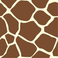 Clip Art of Abstract Colors Seamless Background: Giraffe Skin Seamless Background