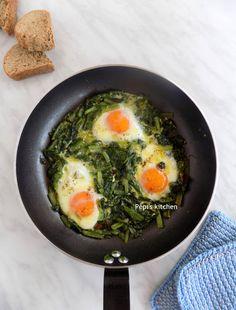 Σέσκουλα με Αυγά http://pepiskitchen.blogspot.gr/2018/04/seskoula-me-avga.html