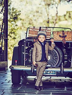 Boys Navy Quilted Vest at JanieandJack