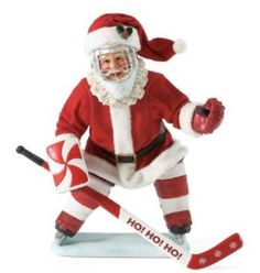 Hockey Santa omg I want this