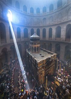 at the Holy Sepulchre Church in Jerusalem