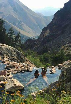 gold bug hot springs, Idaho
