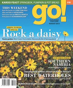 Get your digital subscription/issue of go! - South Africa-August 2013 Magazine on Magzter and enjoy reading the magazine on iPad, iPhone, Android devices and the web. Special Flowers, Back Road, Finding Peace, Real People, Number One, South Africa, Journey, Digital, Ipod Touch