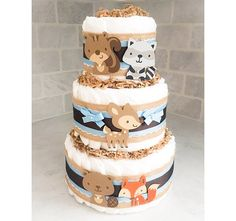Are diaper cakes lame? This can come in whatever color we want.