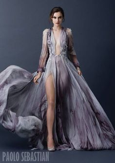 Breathtaking Look of Paolo Sebastian Fall Winter Couture - Be Modish Ohh Couture, Style Haute Couture, Couture Fashion, Runway Fashion, Couture 2015, Couture Week, Mode Glamour, Look Formal, Look Fashion