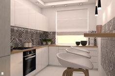 Kuchnia styl Skandynawski - zdjęcie od Dekoncept - Kuchnia - Styl Skandynawski - Dekoncept Bathroom Cupboards, Kitchen Cabinets, Cool Kitchens, Sweet Home, Interior Design, Kitchen Designs, Kitchen Ideas, Inspiration, Home Decor