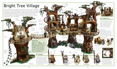 Lego Ewok village on Endor