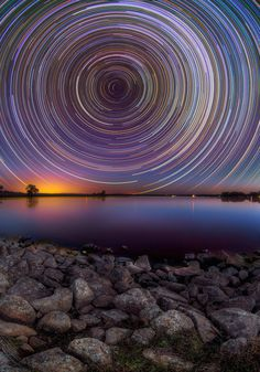 Amazing Long-Exposure Pics Of Star Trails