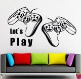 Wall Stickers Vinyl Decor Video Games Joystick Xbox PlayStation Game Room Decor (z2215) - http://freefungames24.com/games/wall-stickers-vinyl-decor-video-games-joystick-xbox-playstation-game-room-decor-z2215.html