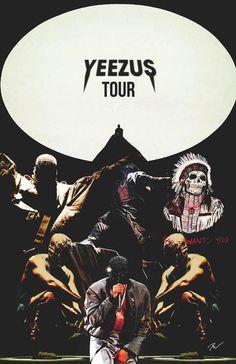 Yeezus Tour.