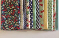 SALE April Showers Quilt or Craft Fabric bundle by Bonnie and Camille for Moda Fabrics-Fat Quarter bundle, 12 total on Etsy, $33.00