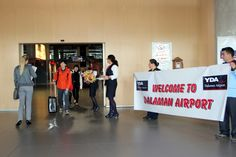 First holidays makers arrived to #Dalaman Airport. Welcome to paradise!