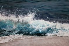 Peintures au pastel des Maldives par Zaria Forman Photo