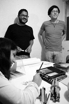 Ed Rangel y Carlos Páramo.   por Estudio Contagio