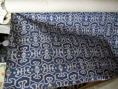BENGALI INDIAN BLUE (indigo/indian blue on linen color field ) 55wide cotton repeat v 12.5- h 8.5 ,geometric ikat perfect for drapes, bedding, pillows, upholstery very versatile multipurpose fabric price in this listing is for one yard medium weight fabric on cotton background Price in this listing is for one yard please use drop down box to select quantity  for pillows made with most of our fabrics please visit our pillow shop at http://www.etsy.com/shop/yiayias  pretty round bolsters…