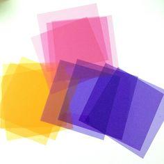 セロファン紙!たまらん!#origami - @chinhako- #webstagram