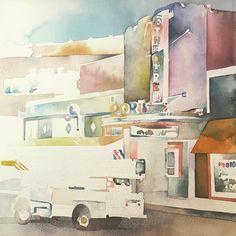 2015 Nancy Murphree Davis nmdART.com Watercolor Art, Paper Art, Artwork, Painting, Instagram, Work Of Art, Watercolor Painting, Papercraft, Paintings