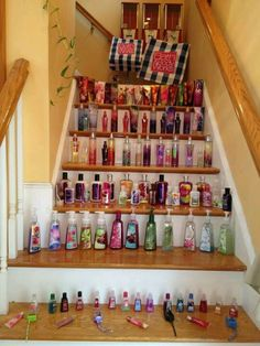 That's a hell of a lot of bath and body works products Bath N Body Works, Bath And Body, Lush Bath, Minions, Perfume Collection, Body Mist, Spa Party, Anti Aging Cream, Beauty Room