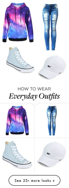 """""""Everyday Outfit"""" by juliannashannon on Polyvore featuring Converse"""