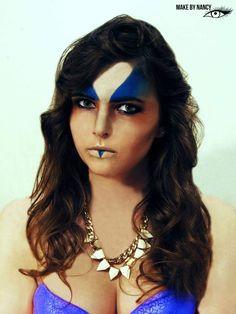 I love this photoshoot #highfashion #makeup #makebynancy #fashion #makeupartist