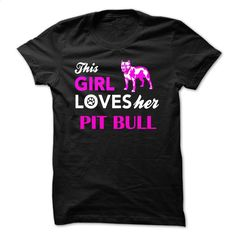 PIT BULL DOG T Shirts, Hoodies, Sweatshirts - #dress shirts #custom hoodies. I WANT THIS => https://www.sunfrog.com/Pets/PIT-BULL-DOG-Black-17793078-Guys.html?60505